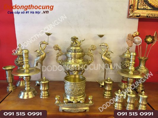 Do Tho Cung Bo Rong Phuong 70cm