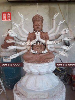 đúc Tượng Phật Thiên Thủ Thiên Nhãn4