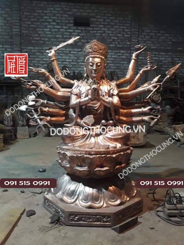 đúc Tượng Phật Thiên Thủ Thiên Nhãn7