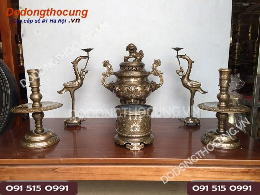 Bo Do Tho Bang Dong Kham Tam Khi 42cm