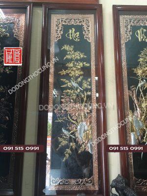 Bo Tranh Tu Quy Bang Dong Do Ma Vang 1m55(2)