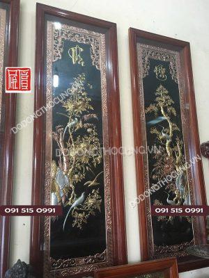 Bo Tranh Tu Quy Bang Dong Do Ma Vang 1m55(3)
