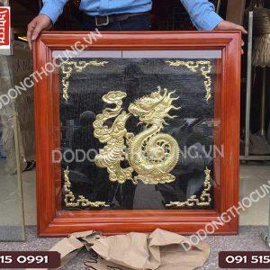 Buc Tranh Chu Phuc Hoa Rong Hang Dat