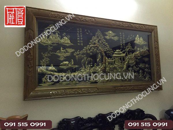 Buc Tranh Dong Que Bang Dong 2m3