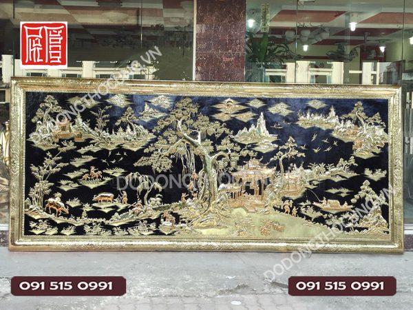 Buc Tranh Dong Que Kho Lon 3m2(2)