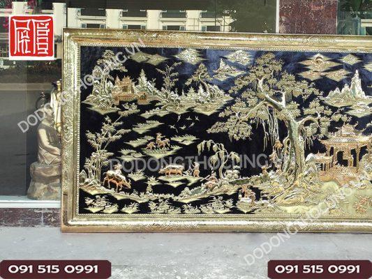 Buc Tranh Dong Que Kho Lon 3m2(3)