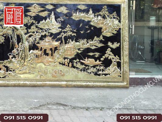 Buc Tranh Dong Que Kho Lon 3m2(4)