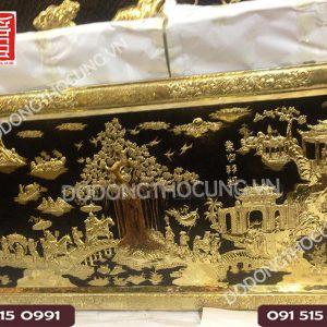 Buc Tranh Vinh Quy Bai To Dong Vang Vien Dong