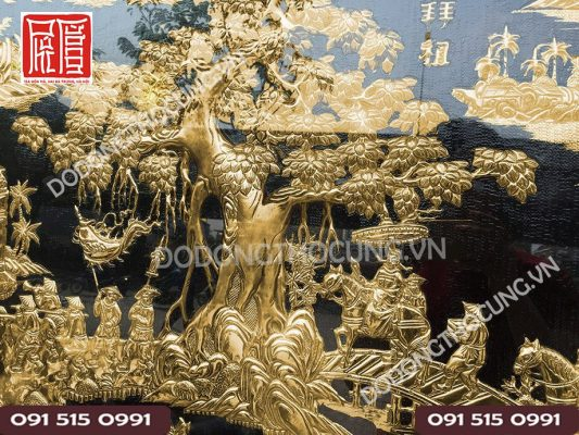 Buc Vinh Quy Bai To Ma Vang 24k(3)
