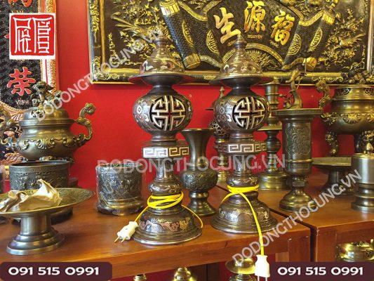 Den Dong Do Kham Ngu Sac 50cm (6)