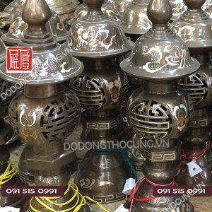 Den Tho Bang Dong Tam Khi Cao Cap Hoa Van