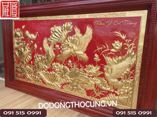 Dia Chi Ban Tranh Dat Vang 24 K Cuc Dep