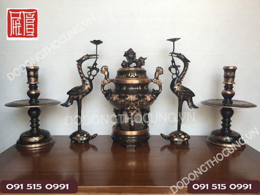 Dinh Tho Ngu Su Song Phung Cao Mau 50cm