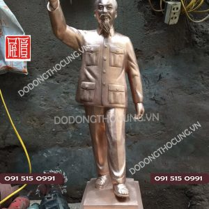 Duc Tuong Ho Chu Tich Dung Gio Tay Chao