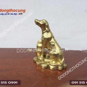Linh Vat Cho Phong Thuy Duc Bang Dong Vo Dan 20cm