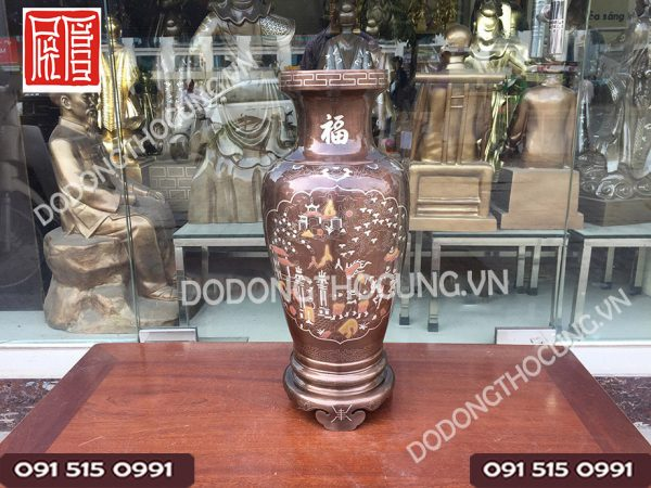 Lo Hoa Dong Kham Tam Khi Vinh Quy Bai To 66cm