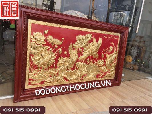 Noi Ban Tranh Dong Dat Vang Cao Cap