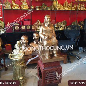 Pho Tuong Bac Ho Ngoi Doc Bao 60cm (3)