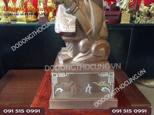 Pho Tuong Tran Hung Dao Kham Vang 50cm(6)