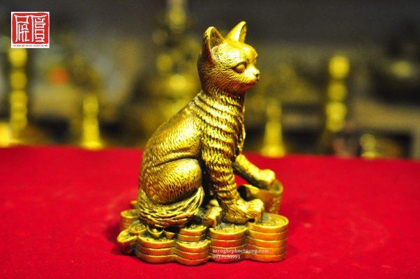 Tượng Mèo May Mắn (3)