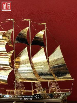 Thuyền Buồm Mạ Vàng To (3)