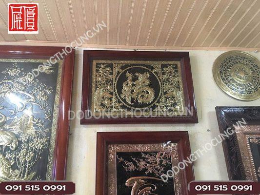 Tranh Chu Phuc Hoa Rong Khung Go Thit 90cm(2)