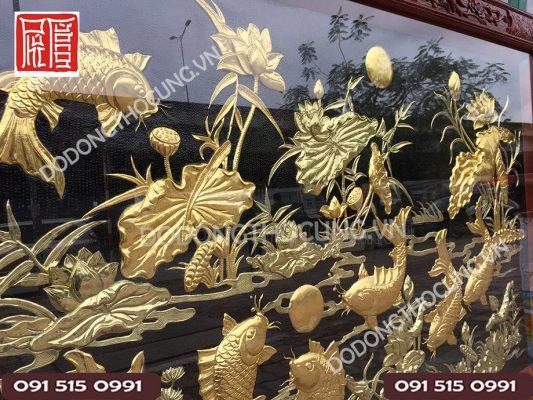Tranh Cuu Ngu Hoa Sen Dat Vang(4)