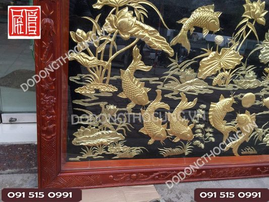 Tranh Cuu Ngu Hoa Sen Dat Vang(6)