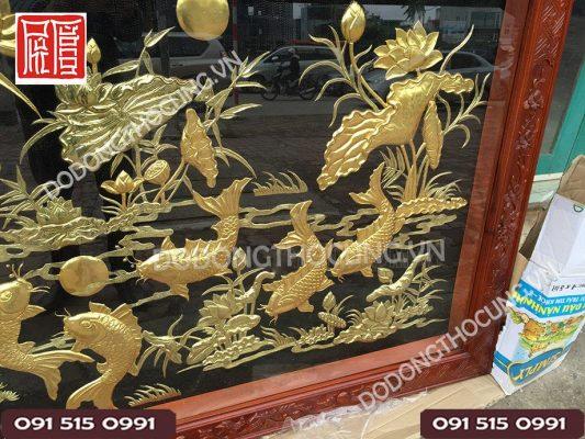 Tranh Cuu Ngu Hoa Sen Dat Vang(7)