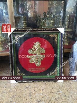 Tranh Dong Chu Tho Hoa Rong 50cm