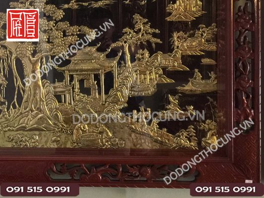 Tranh Dong Phong Canh Dong Que Loai Tot(3)