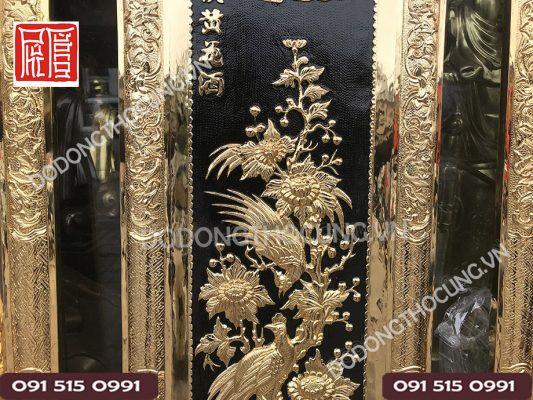Tranh Dong Tu Quy Ma Vang 24k (8)