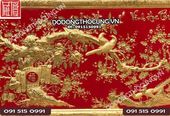 Tranh Dong Vinh Hoa Phu Quy 3