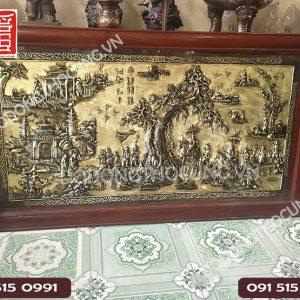 Tranh Dong Vinh Quy Bai To Mau Hun Gia Co 1m97