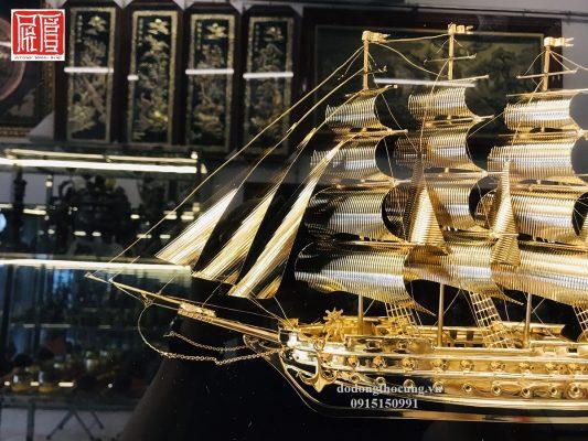 Tranh Thuận Buồm Xuôi Gió Mạ Vàng To (1)