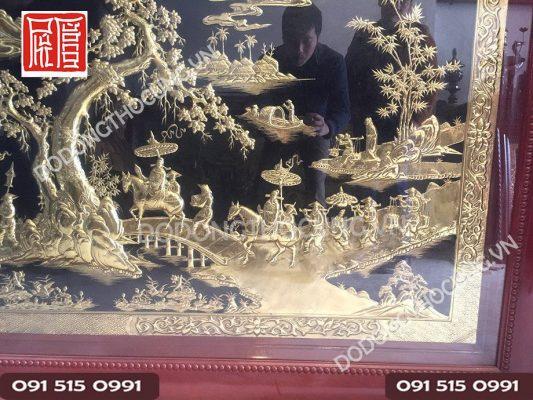 Tranh Vinh Quy Bai To Dong Vang 2m3 (4)