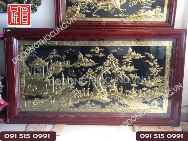 Tranh Vinh Quy Bai To Dong Vang 2m3