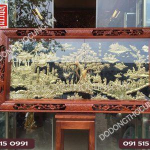 Tranh Vinh Quy Bai To Dong Vang Khung Tu Quy 1m55