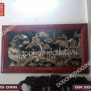 Tranh Vinh Quy Bai To Hang Dat Cham Tay 1m55