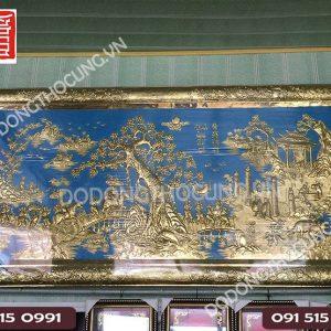 Tranh Vinh Quy Bai To Khung Dong Nen Xanh 2m5(2)