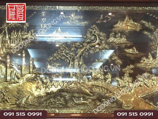 Tranh Vinh Quy Bai To Khung Tu Quy Go Gu 1m97(2)
