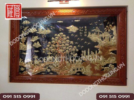 Tranh Vinh Quy Bai To Treo Phong Khach 1m97