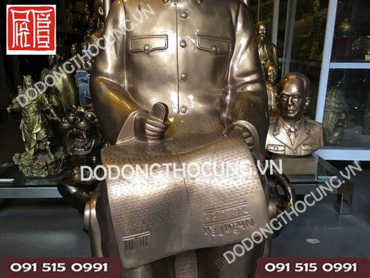 Tuong Bac Ho Ngoi Doc Bao 1m 2
