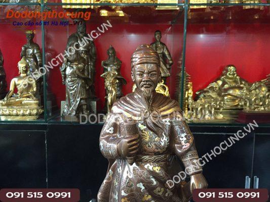 Tuong Cu Tran Quoc Tuan Kham Ngu Sac 50cm(2)