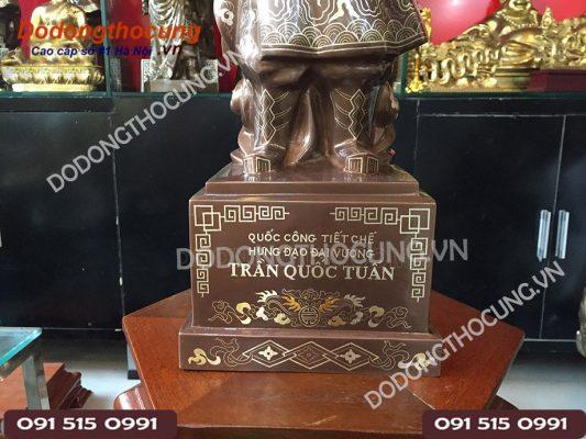 Tuong Cu Tran Quoc Tuan Kham Ngu Sac 50cm(4)