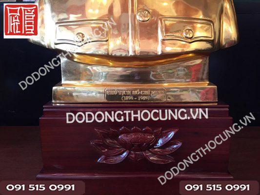 Tuong Nua Nguoi Bac Ho Dat Vang 60cm(2)