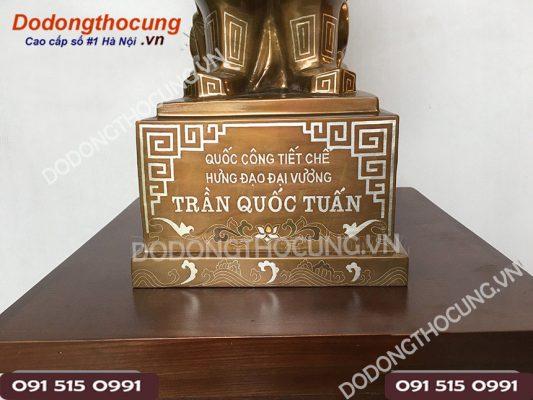 Tuong Tran Quoc Tuan Kham Ngu Sac 50cm 2