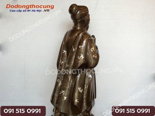 Tuong Tran Quoc Tuan Kham Tam Khi 90cm 4