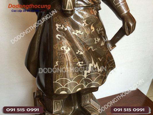 Tuong Tran Quoc Tuan Kham Tam Khi 90cm 6