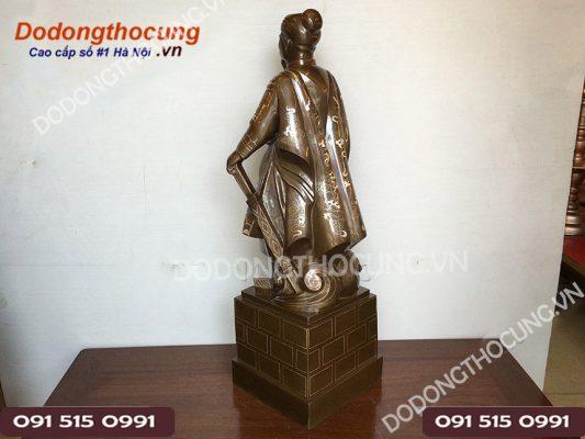 Tuong Tran Quoc Tuan Kham Tam Khi 90cm 7
